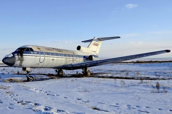самолет Тува Авиа